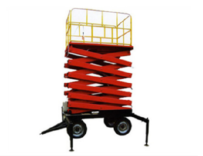 Customized 4-20m Lifting Electric Manual Scissor Lift Platform From China