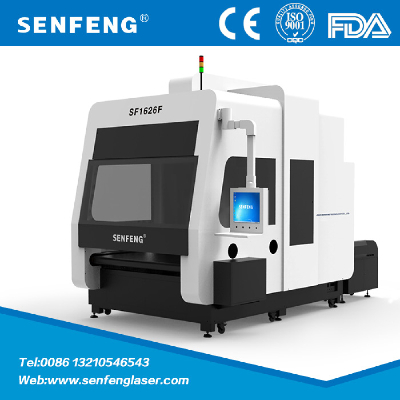 SF1626F garment co2 laser marking machine for fabric cutting