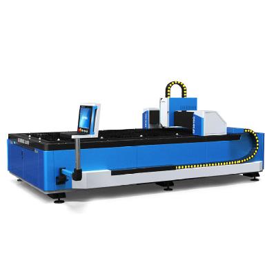 CNC fiber laser cutting machine for metal sheet SF3015G