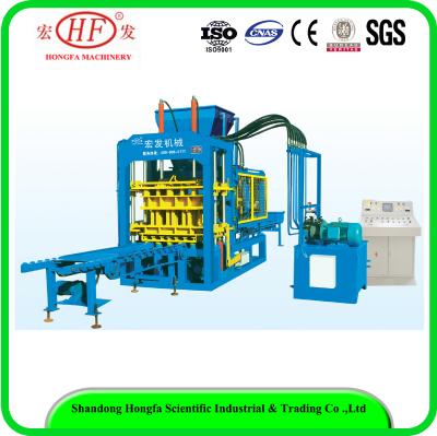 QT6-15 full automatic block machine