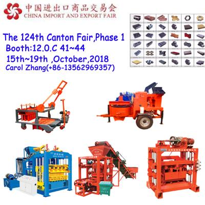 Full automatic paver bricks forming machine, concrete blocks production line
