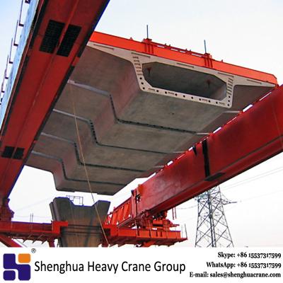 Box type bridge girder crane overhead launching gantry machine