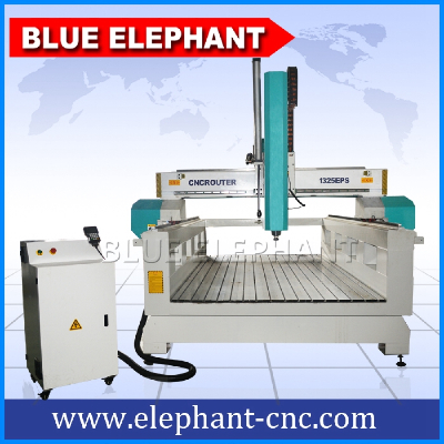High z axis 1325 wood working cnc router , wood EPS foam cutting machine for sale