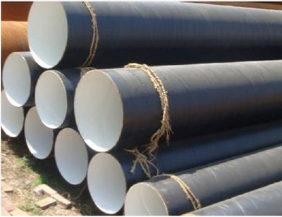 Large supply of Q235B gb carbon steel spiral steel pipe