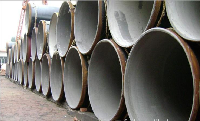 Large supply of steel tube cement mortar lining anti-corrosion steel pipe