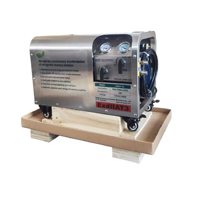 Oil Less Explosion Proof Refrigerant Recovery Machine CMEP-OL
