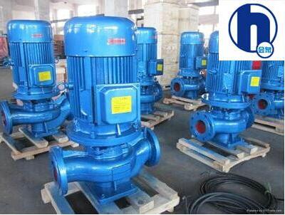 ISG pipeline pump