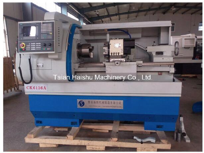 CNC Machine Ck6136A*650/750/1000 CNC Lathe Machine Price and LatheMachine with CE From Taian Haishu