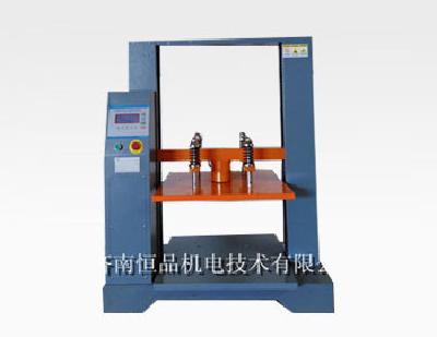 Steel bending test machine