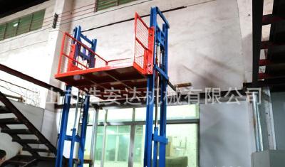 Fixed rail lift elevator plant