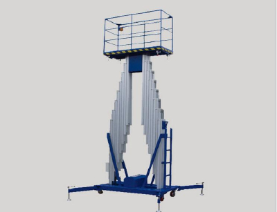 Aluminum lift platform mobile lifts