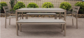 Aluminum Outdoor Long Dining Table,