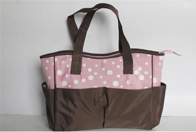 fashion diaper bag mummy bag/baby diaper bag/outdoor stroller travel mommy bag factory
