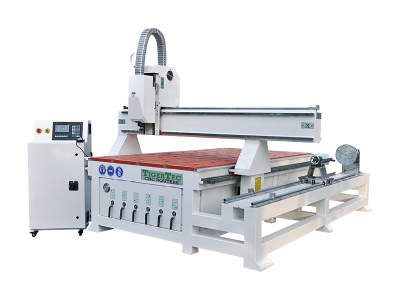 CNC Router TR408R with rotary axis