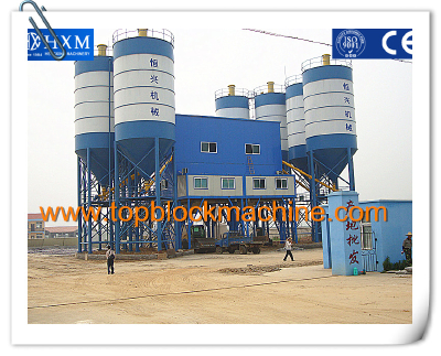 HZS series 120/150/180 ready mixing concrete batching plant mixing plant concrete batching plant
