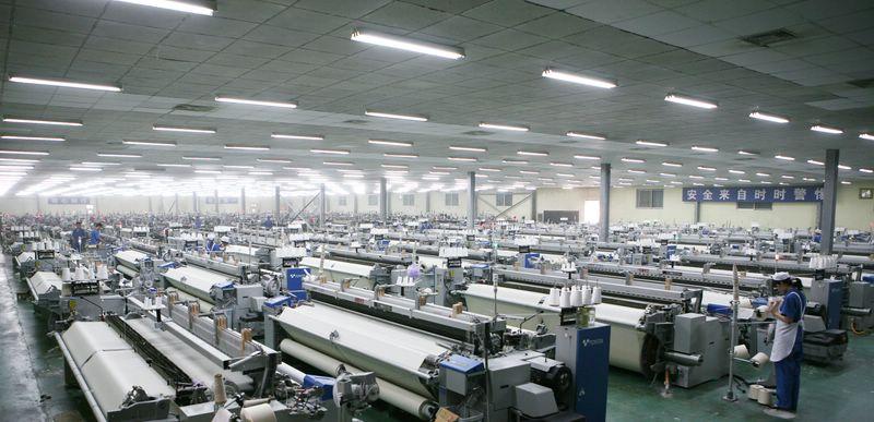 纺织机械生产流程大概是什么样的?图片
