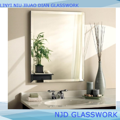 Polished aluminum mirror sheet for decoration