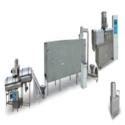 crispy food puff snacks processing machine line