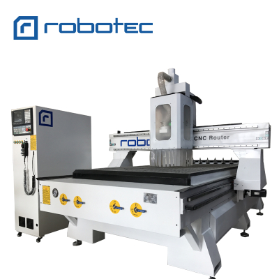 High-End CNC Wood Carving Machine With Auto Tool Changer/3D CNC Router For Wood Door Making