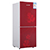 Good double door glass door refrigerator home glass door refrigerators