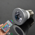 AC85-265V 16 colors E27 E14 RGB Remote Controlled LED Spot lighting