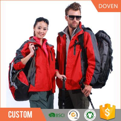 Custom any fabric and style man/woman ski jacket