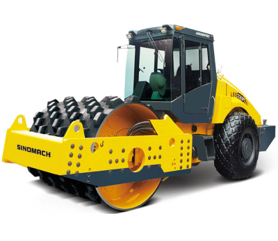 SINOMACH Mechanical Single Drum Vibratory Road Roller LSS2102