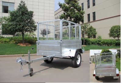 Box/ Cage trailer in hot dipped galvanized