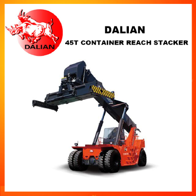 DALIAN 45 Ton Container Reach Stacker For sale