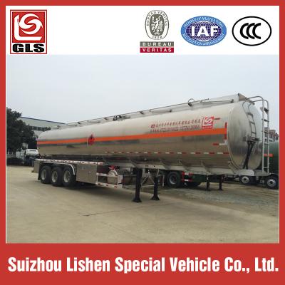 Tri-Axle Aluminum tank trailer 42,000L BPW air suspension