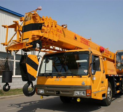 KaiFan Brand 6x4 25T Truck Crane good quality and reasonable price
