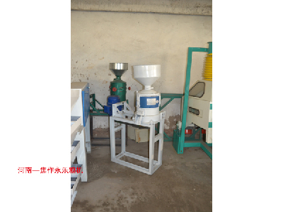 Double stick steel grinding machine