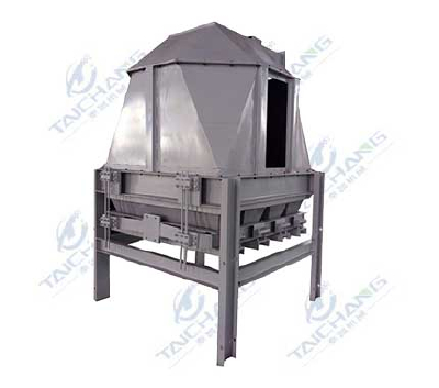 Counterflow cooling machine