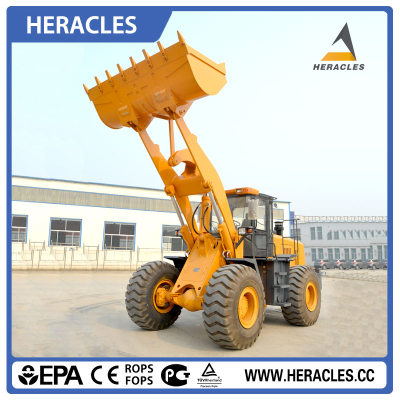 HR958F 5 ton  industrial wheel loaders for sale made in china