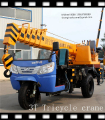 3 ton mini tricycle crane