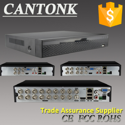 Guangzhou Cantonk factory price p2p h.265 POE 720p DVR/HVR/NVR All in one AHD DVR 8ch CCTV Cameras System