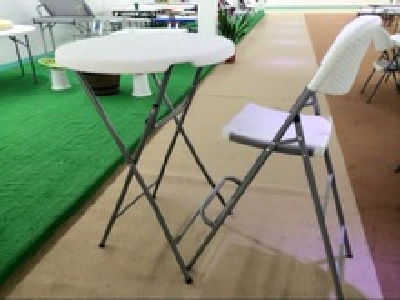 popular sale outdoor cheap portable modern plastic folding high barchair for party,event,rental,wedding,school,conference