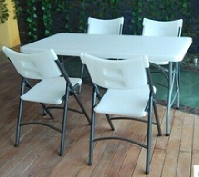 Used HDPE Wholesale folding chairs