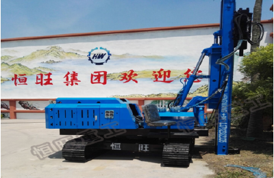 360 degree rotatable 3M hydraulic hammer piling machine
