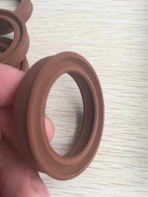 Turning fluorine rubber seal