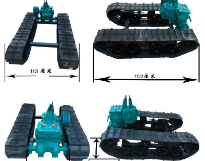 High wear-resistant chassis harvester