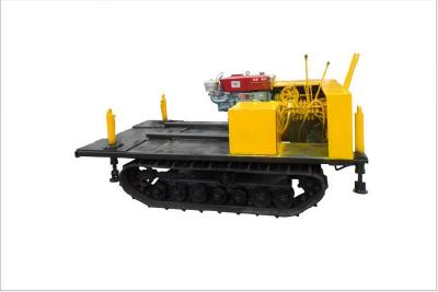 Farm machine chassis hydraulic crawler crane chassis