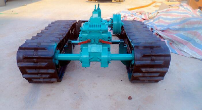 Multipurpose aggravated crawler chassis
