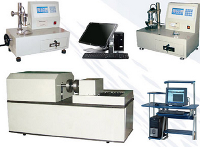 Spring torsion testing machine