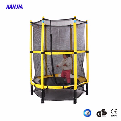 Home Use Kids Jumping Trampoline with Safety Enclosure, kids indoor trampoline