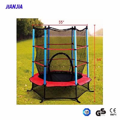 "55"" Round Interactive Game Trampoline Dimensions 55 Inches, kidsindoor trampoline"