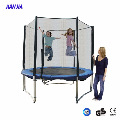 China Factory New Arrival Trampoline with Safety Enclosure, Outdoorround Trampoline
