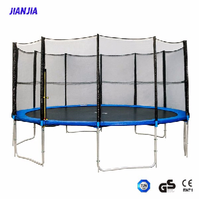 Large Sized 14 Foot Folding Trampolines, Outdoor round Trampoline