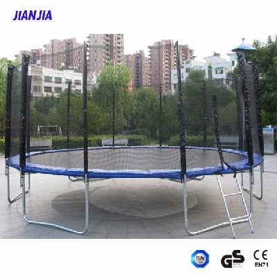 15FT Trampoline with Safety Net, Cheap Big Trampoline for Sale, Outdoorround Trampoline