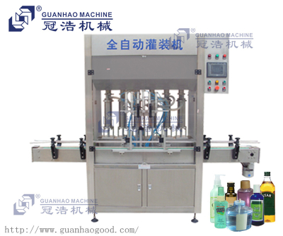 Piston type filling machine, cosmetic cream filling production line